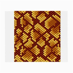 Snake Skin Pattern Vector Small Glasses Cloth (2-Side)