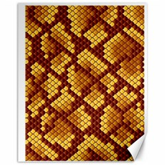 Snake Skin Pattern Vector Canvas 11  x 14