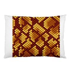 Snake Skin Pattern Vector Pillow Case
