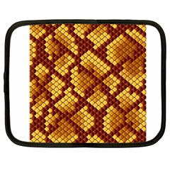 Snake Skin Pattern Vector Netbook Case (XXL)