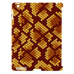 Snake Skin Pattern Vector Apple Ipad 3/4 Hardshell Case (compatible With Smart Cover)