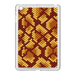 Snake Skin Pattern Vector Apple Ipad Mini Case (white)