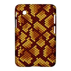 Snake Skin Pattern Vector Samsung Galaxy Tab 2 (7 ) P3100 Hardshell Case