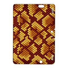 Snake Skin Pattern Vector Kindle Fire HDX 8.9  Hardshell Case