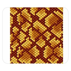 Snake Skin Pattern Vector Double Sided Flano Blanket (Small)