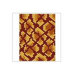 Snake Skin Pattern Vector Satin Bandana Scarf