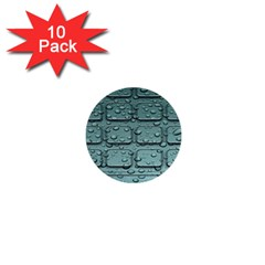 Water Drop 1  Mini Buttons (10 Pack)