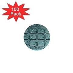 Water Drop 1  Mini Magnets (100 pack)