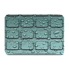 Water Drop Plate Mats