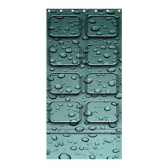 Water Drop Shower Curtain 36  X 72  (stall)