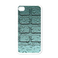 Water Drop Apple iPhone 4 Case (White)