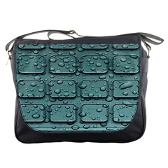 Water Drop Messenger Bags