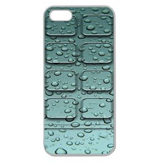 Water Drop Apple Seamless Iphone 5 Case (clear)