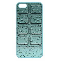 Water Drop Apple Seamless Iphone 5 Case (color)