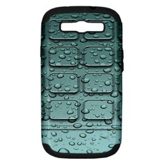 Water Drop Samsung Galaxy S Iii Hardshell Case (pc+silicone)