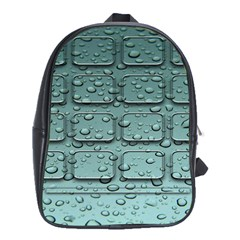 Water Drop School Bags (XL)