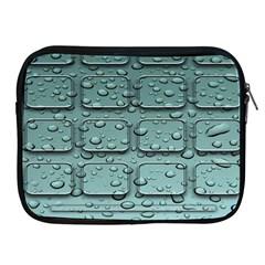 Water Drop Apple Ipad 2/3/4 Zipper Cases