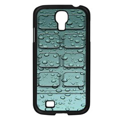 Water Drop Samsung Galaxy S4 I9500/ I9505 Case (black)