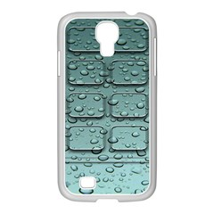 Water Drop Samsung GALAXY S4 I9500/ I9505 Case (White)