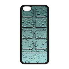Water Drop Apple iPhone 5C Seamless Case (Black)
