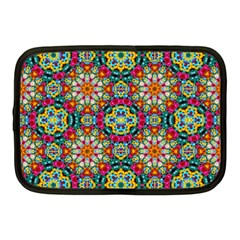 Jewel Tiles Kaleidoscope Netbook Case (Medium)