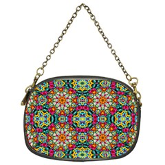 Jewel Tiles Kaleidoscope Chain Purses (One Side)