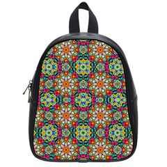 Jewel Tiles Kaleidoscope School Bags (Small)