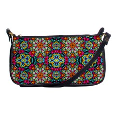 Jewel Tiles Kaleidoscope Shoulder Clutch Bags