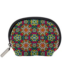 Jewel Tiles Kaleidoscope Accessory Pouches (Small)