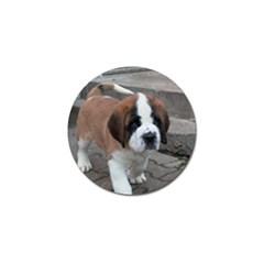 St Bernard Pup Golf Ball Marker (10 pack)