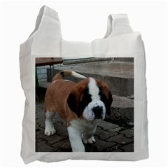 St Bernard Pup Recycle Bag (Two Side)