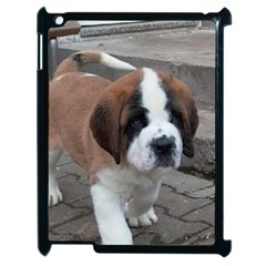 St Bernard Pup Apple iPad 2 Case (Black)