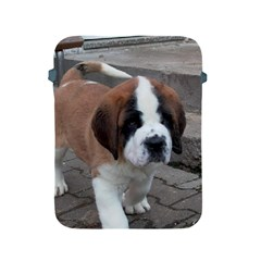 St Bernard Pup Apple iPad 2/3/4 Protective Soft Cases