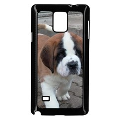 St Bernard Pup Samsung Galaxy Note 4 Case (Black)
