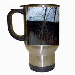 Abondoned House Travel Mugs (White)