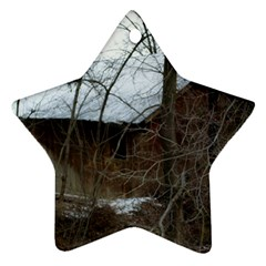 Abondoned House Star Ornament (Two Sides)