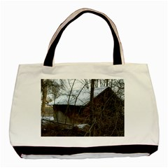 Abondoned House Basic Tote Bag (Two Sides)