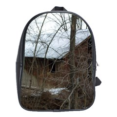 Abondoned House School Bags(Large)