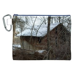 Abondoned House Canvas Cosmetic Bag (XXL)