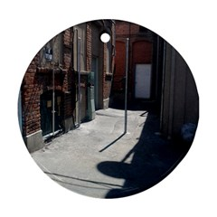 Alley Round Ornament (Two Sides)