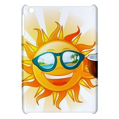 Cartoon Sun Apple iPad Mini Hardshell Case