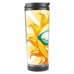 Cartoon Sun Travel Tumbler