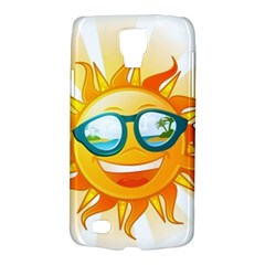 Cartoon Sun Galaxy S4 Active