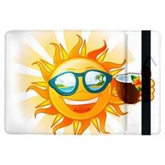 Cartoon Sun iPad Air Flip