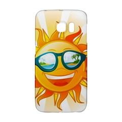 Cartoon Sun Galaxy S6 Edge