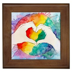 Pride Love Framed Tiles
