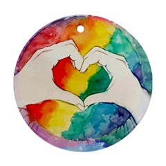 Pride Love Ornament (Round)