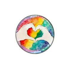 Pride Love Hat Clip Ball Marker (4 pack)