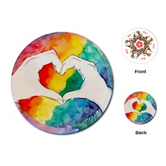 Pride Love Playing Cards (Round)
