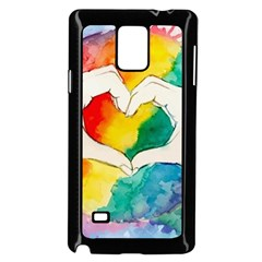 Pride Love Samsung Galaxy Note 4 Case (Black)